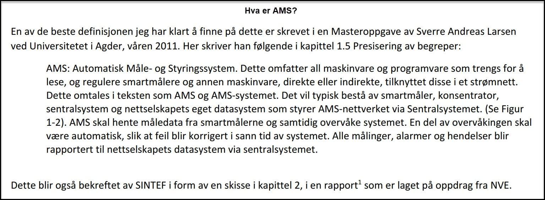 hva er AMS