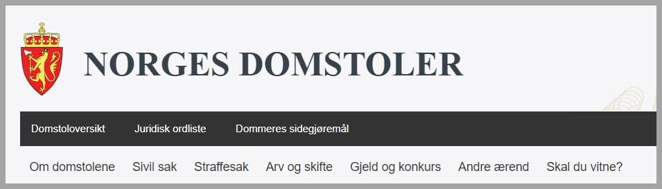 norges-domstoler