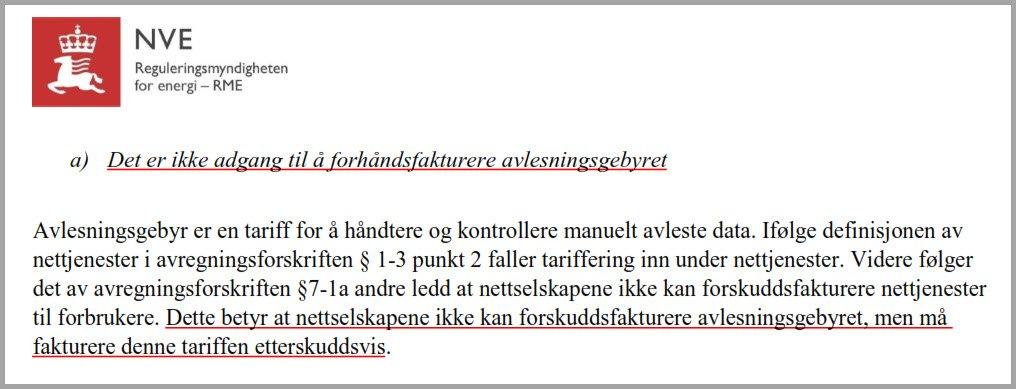 avregningsforskriften § 7-1a